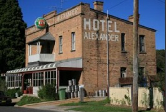 Alexander Hotel Rydal - Accommodation Ballina