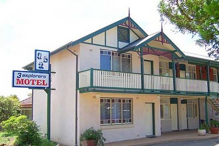3 Explorers Motel - Accommodation Ballina