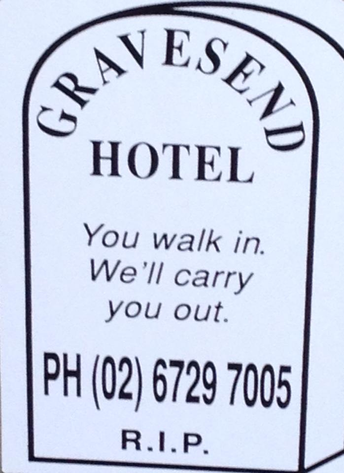 Gravesend Hotel - Accommodation Ballina