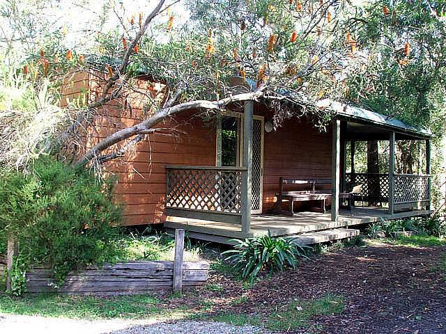 Jervis Bay Cabins  Hidden Creek Real Camping - Accommodation Ballina