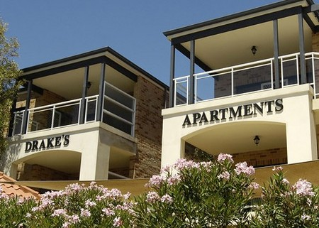 Drakes Apartments with Cars
