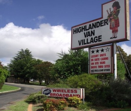 Highlander Van Village - Accommodation Ballina