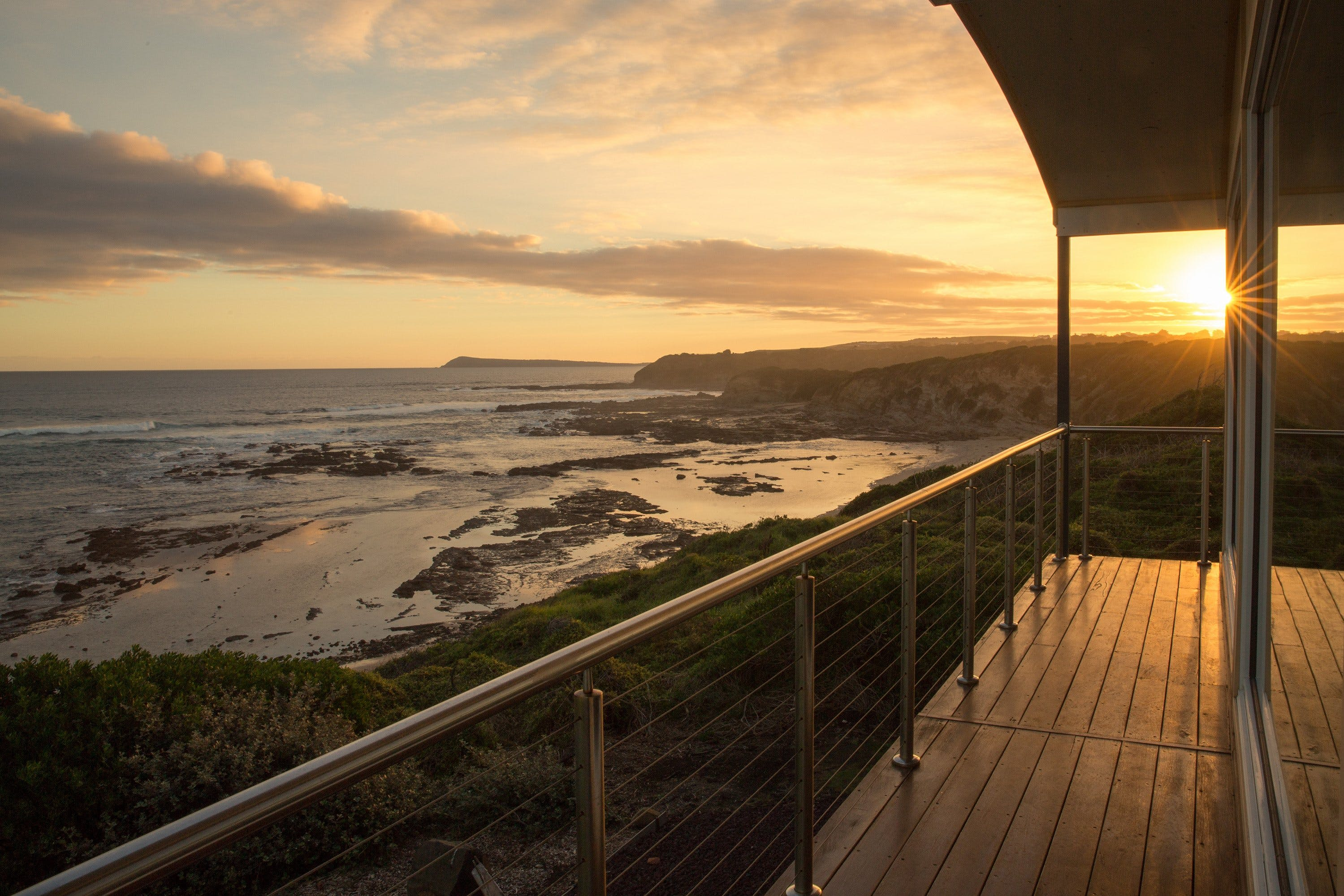 Kilcunda Oceanview Holiday Retreat - Accommodation Ballina