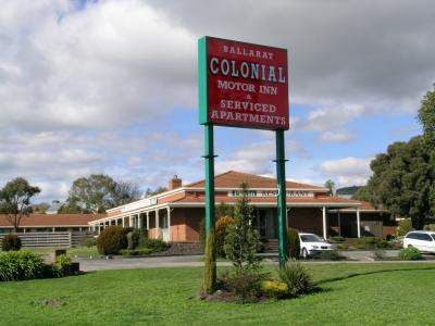 Ballarat Colonial Motor Inn - Accommodation Ballina