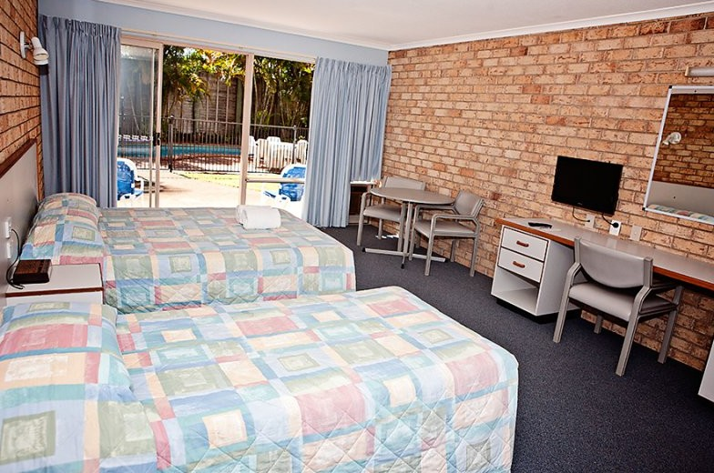 Sunshine Coast Motor Lodge - Accommodation Ballina