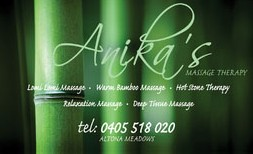 Anikas Massage Therapy - Accommodation Ballina