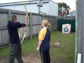Bairnsdale Archery Mini Golf  Games Park - Accommodation Ballina
