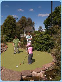 Wetlands Mini Golf - Accommodation Ballina