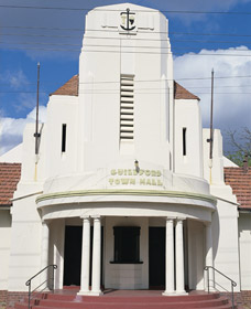 Guildford Town Hall - Accommodation Ballina