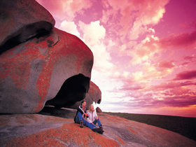 Remarkable Rocks Flinders Chase National Park - Accommodation Ballina