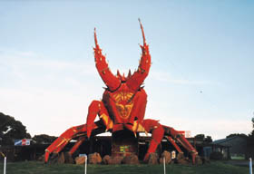 The Big Lobster - Accommodation Ballina