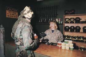 Indoor Skirmish - Paintball Sports - Accommodation Ballina