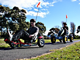 Pedal Buggies Tasmania - Accommodation Ballina