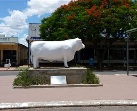 Aramac - The White Bull - Accommodation Ballina
