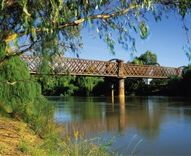 Narrandera Rail Bridge - Accommodation Ballina