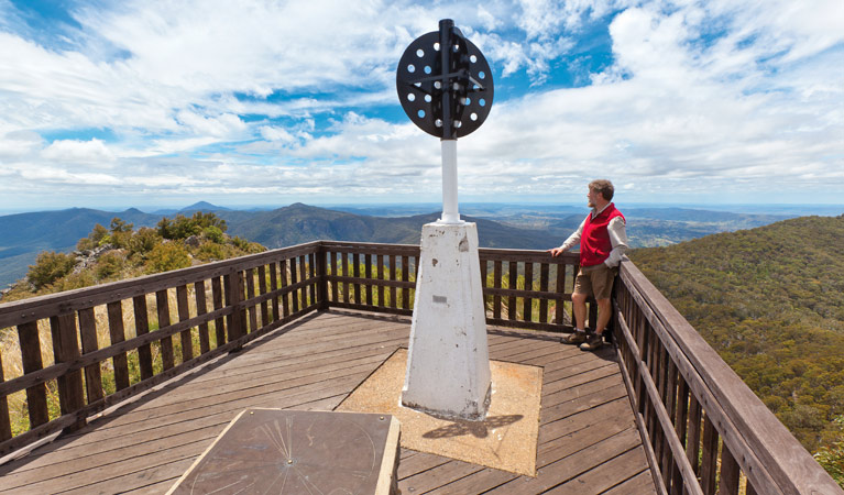 Mount Kaputar summit walk - Accommodation Ballina
