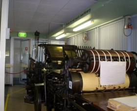 Queanbeyan Printing Museum - Accommodation Ballina