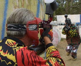 Paintball Skirmish - Accommodation Ballina
