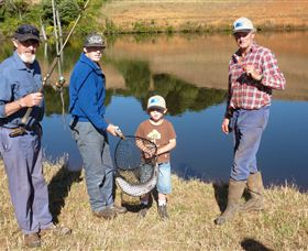 Natone Hills Fly Fishery - Accommodation Ballina