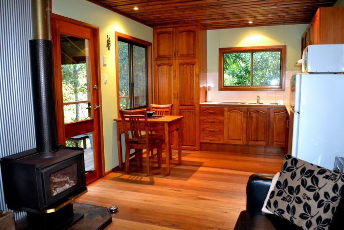 Waterfall Hideout-Rainforest Cabin for Couples - Accommodation Ballina
