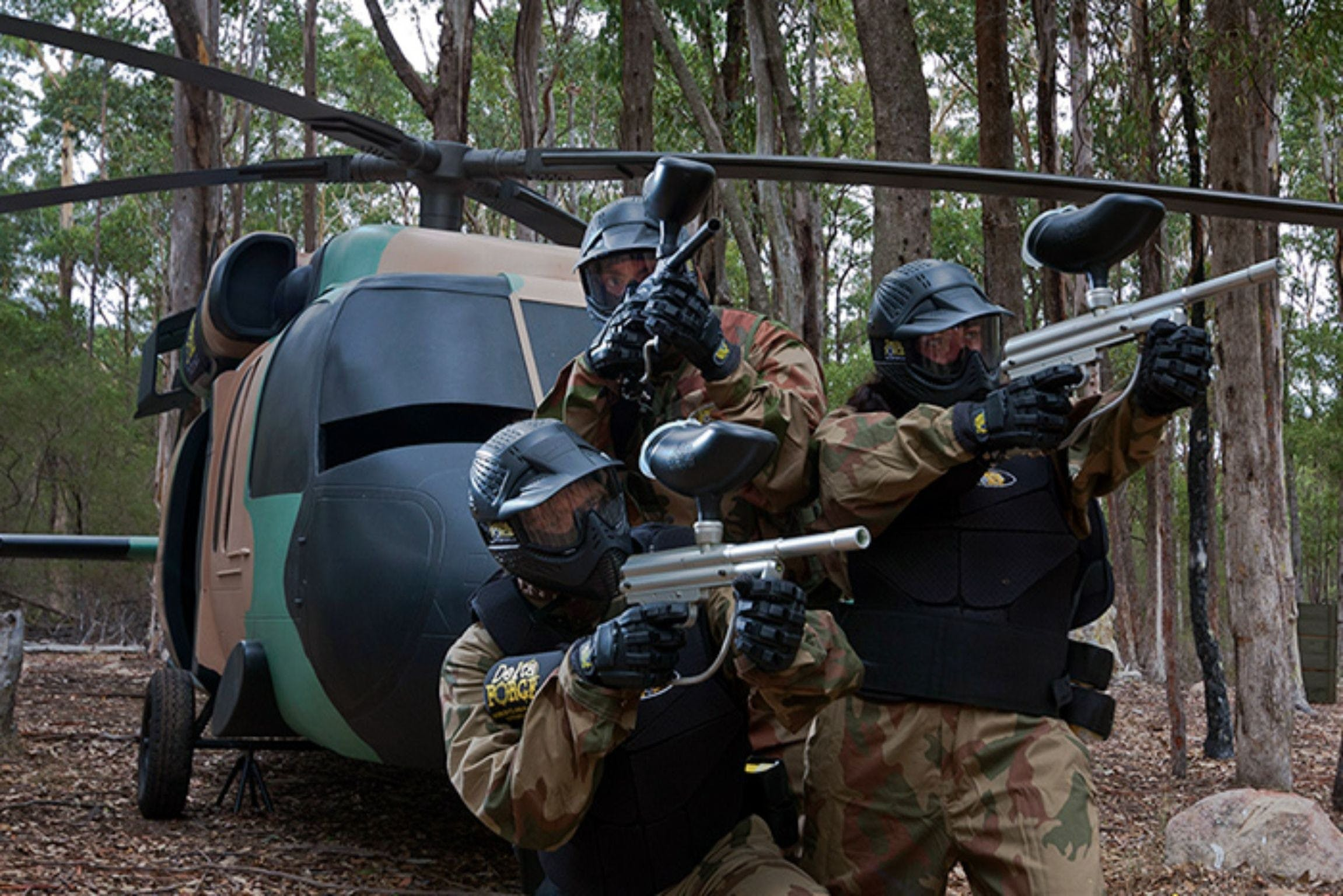 Delta Force Paintball Appin - Accommodation Ballina