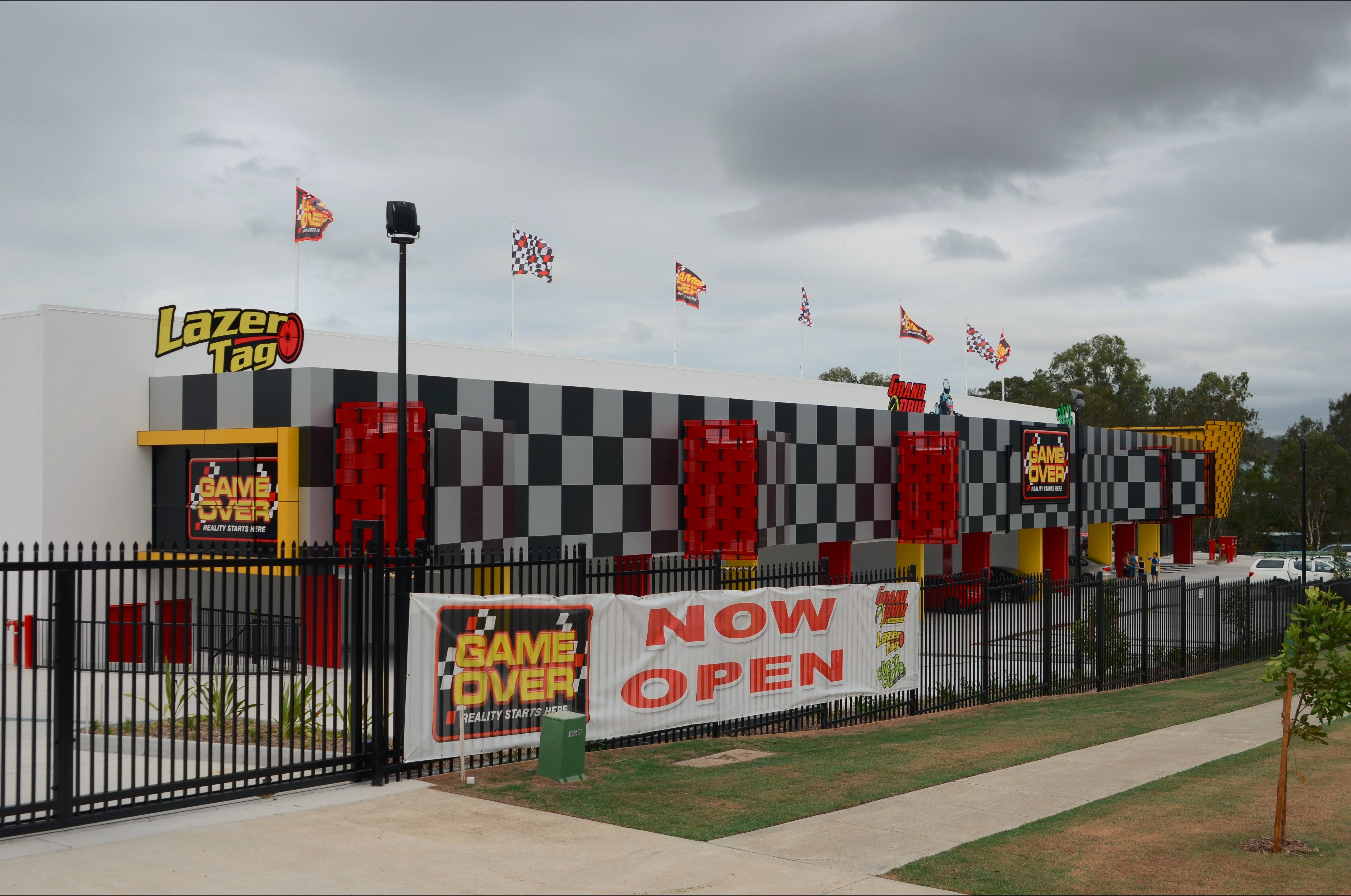 Game Over Indoor Go Karting Adventure Climbing Walls and Lazer Tag Centre - Accommodation Ballina