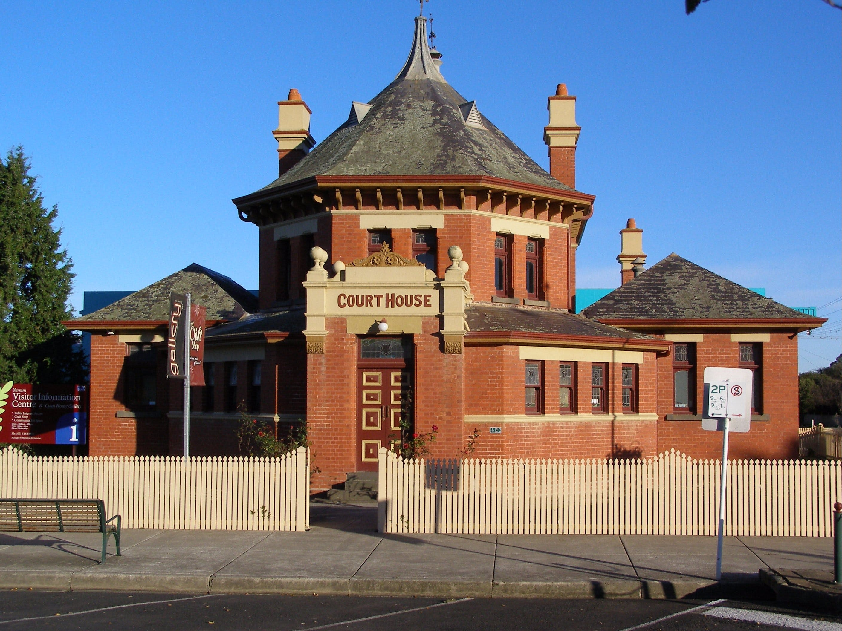 Yarram Courthouse Gallery - Accommodation Ballina