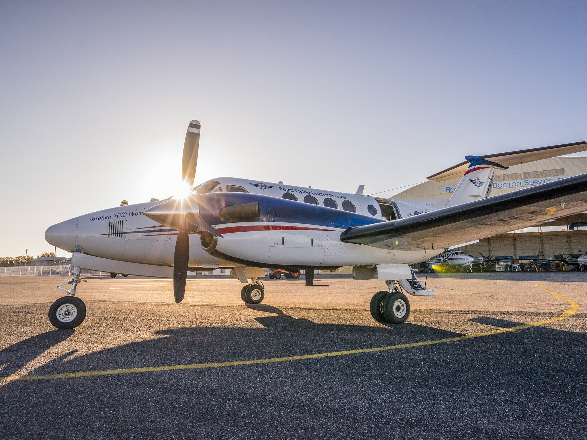 The Royal Flying Doctor Service Outback Experience in Broken Hill - Accommodation Ballina
