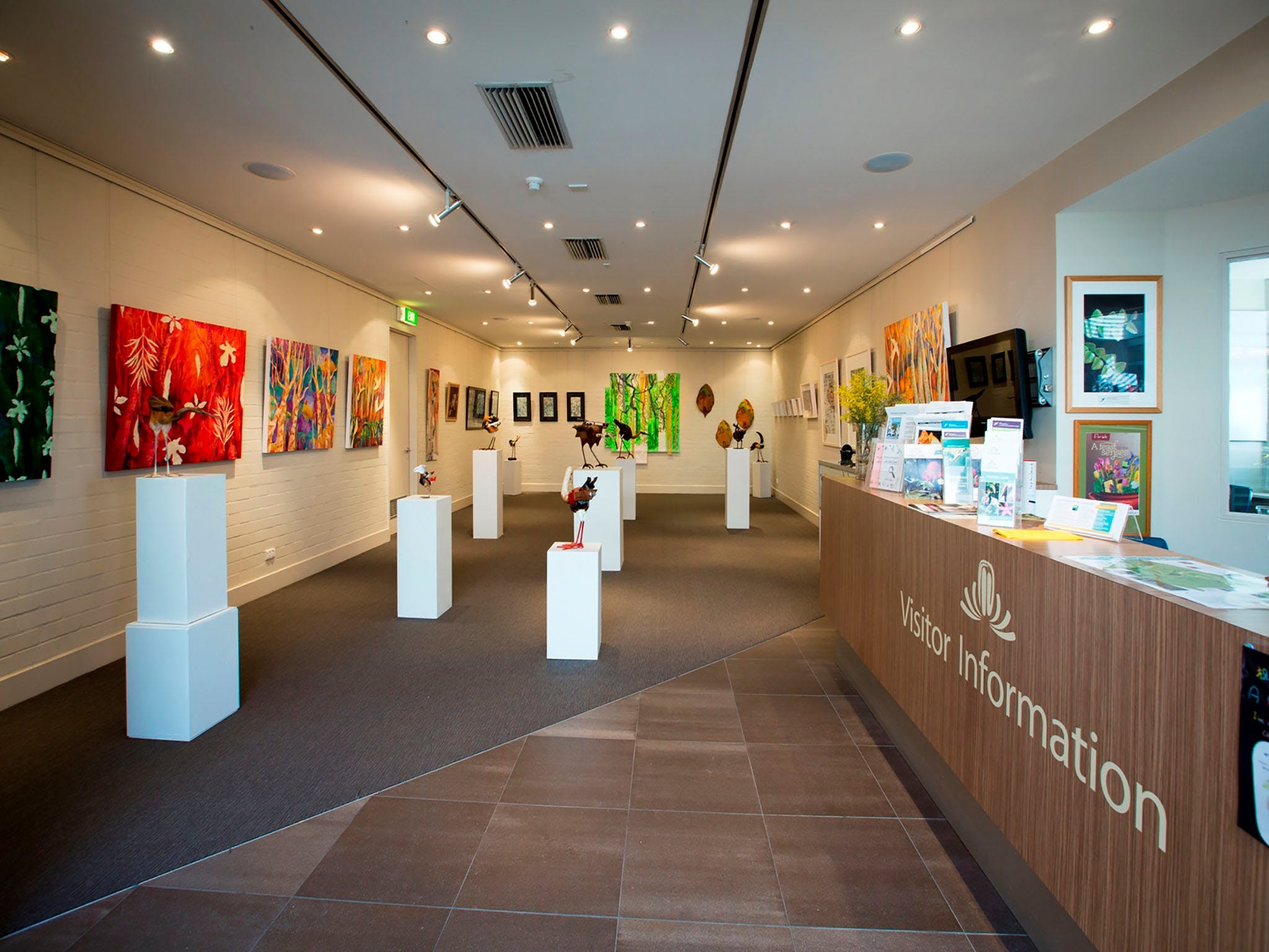 Australian National Botanic Gardens Visitor Centre Gallery - Accommodation Ballina