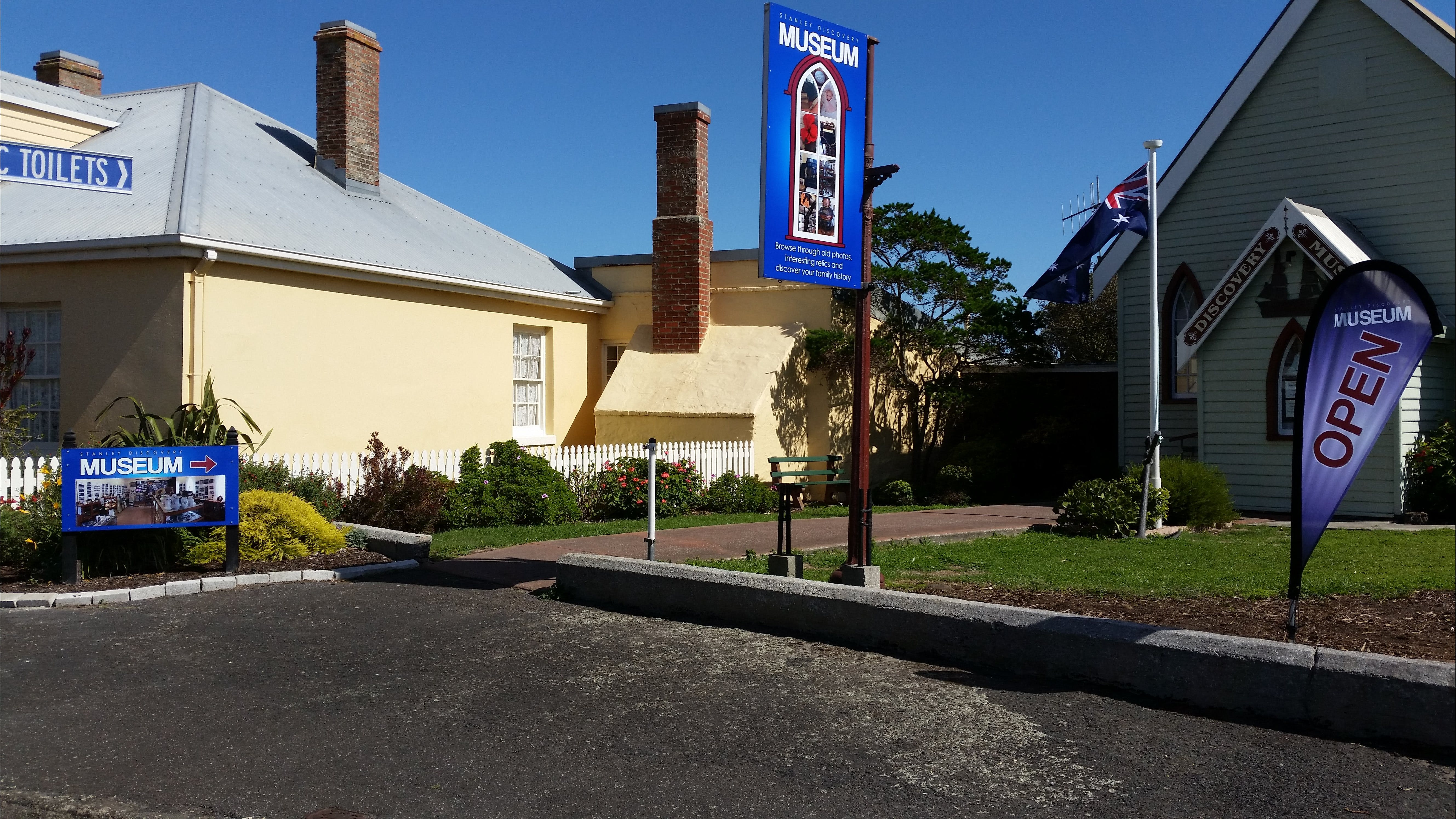 Stanley Discovery Museum - Accommodation Ballina