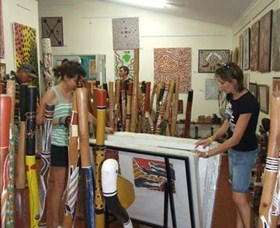 Top Didj and Art Gallery - Accommodation Ballina