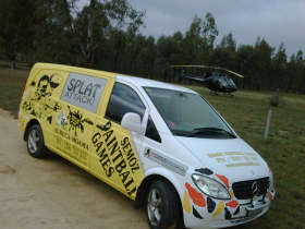 Splat Attack Paintball  Laser Tag Games - Accommodation Ballina