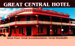 Great Central Hotel - Accommodation Ballina