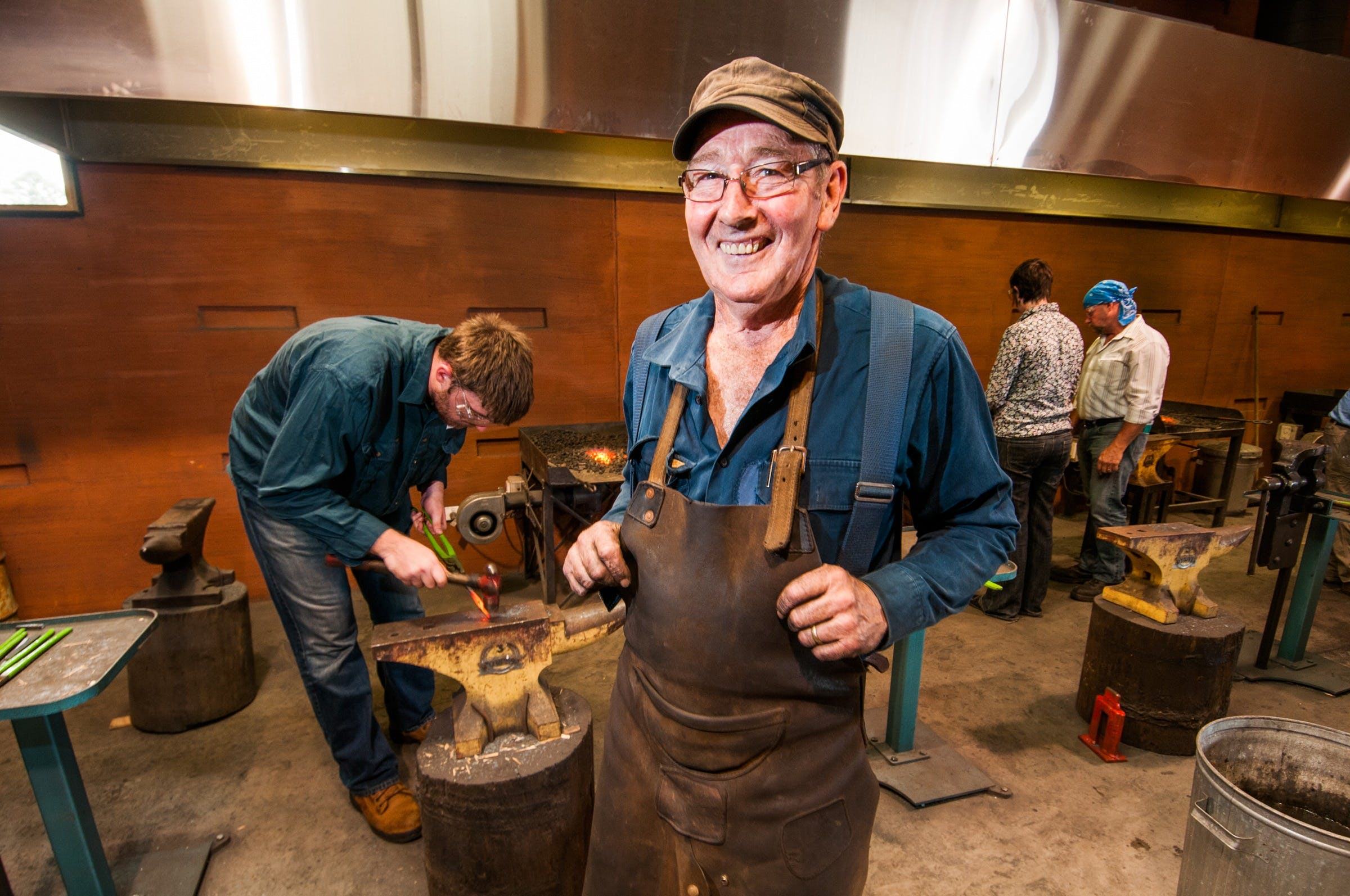 Blacksmithing 3 Day Project - Accommodation Ballina
