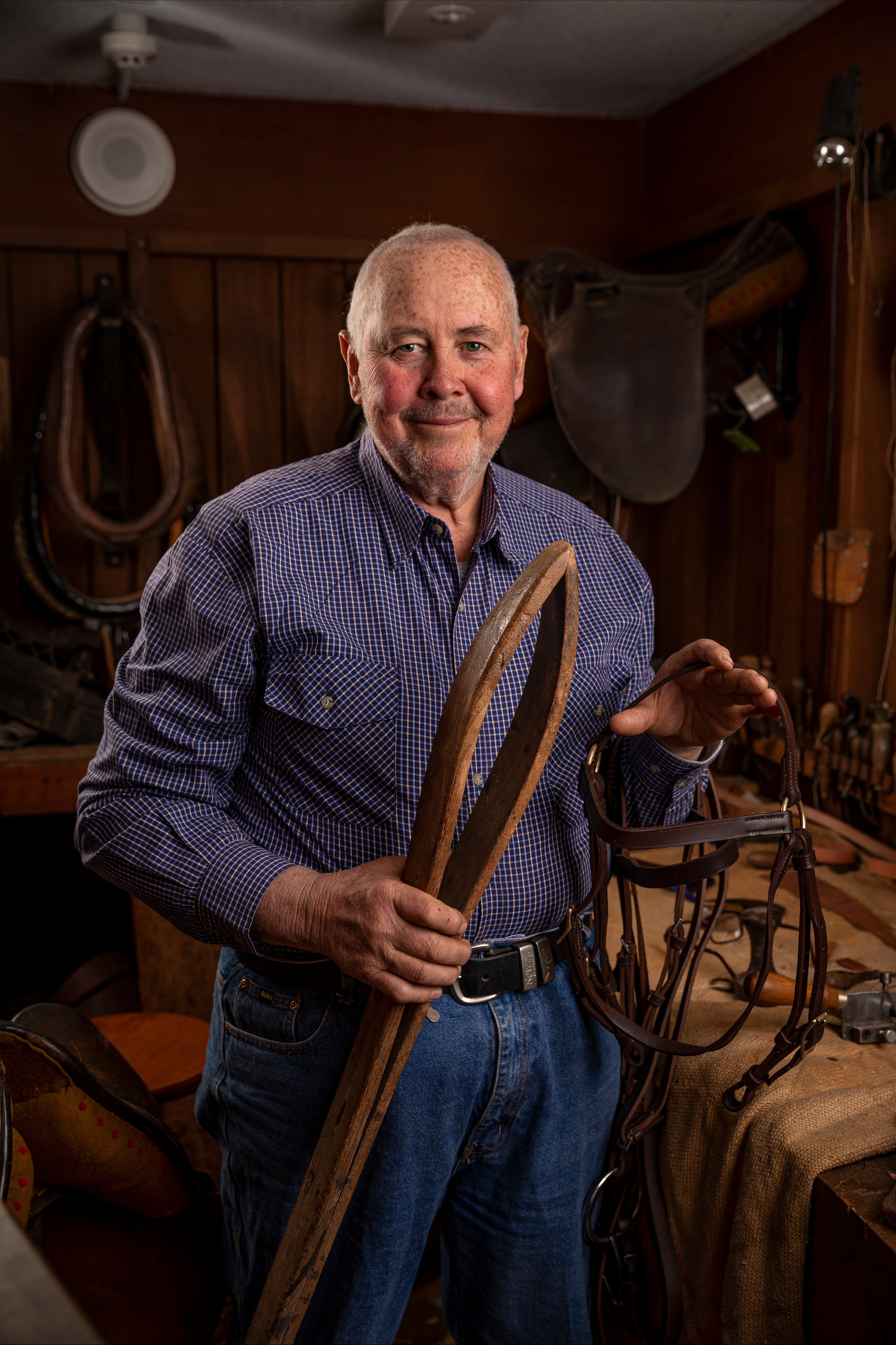 Bridle Making Workshop - Accommodation Ballina