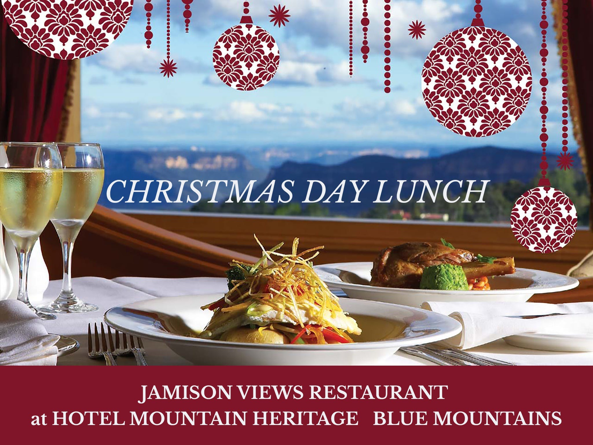 Christmas Day Lunch Hotel Mountain Heritage - Accommodation Ballina