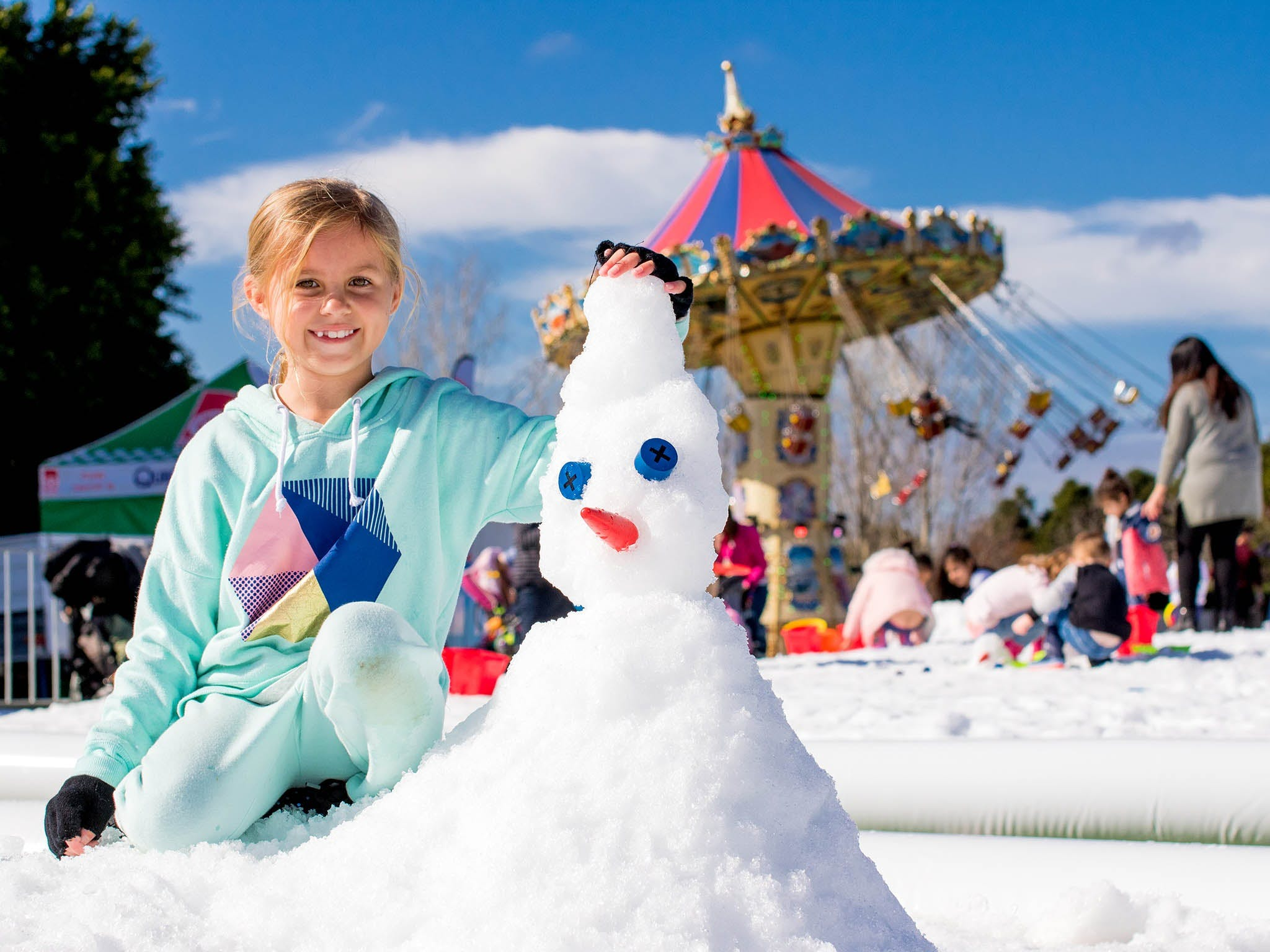 Snow Time in the Garden - Hunter Valley Gardens - Cancelled - Accommodation Ballina