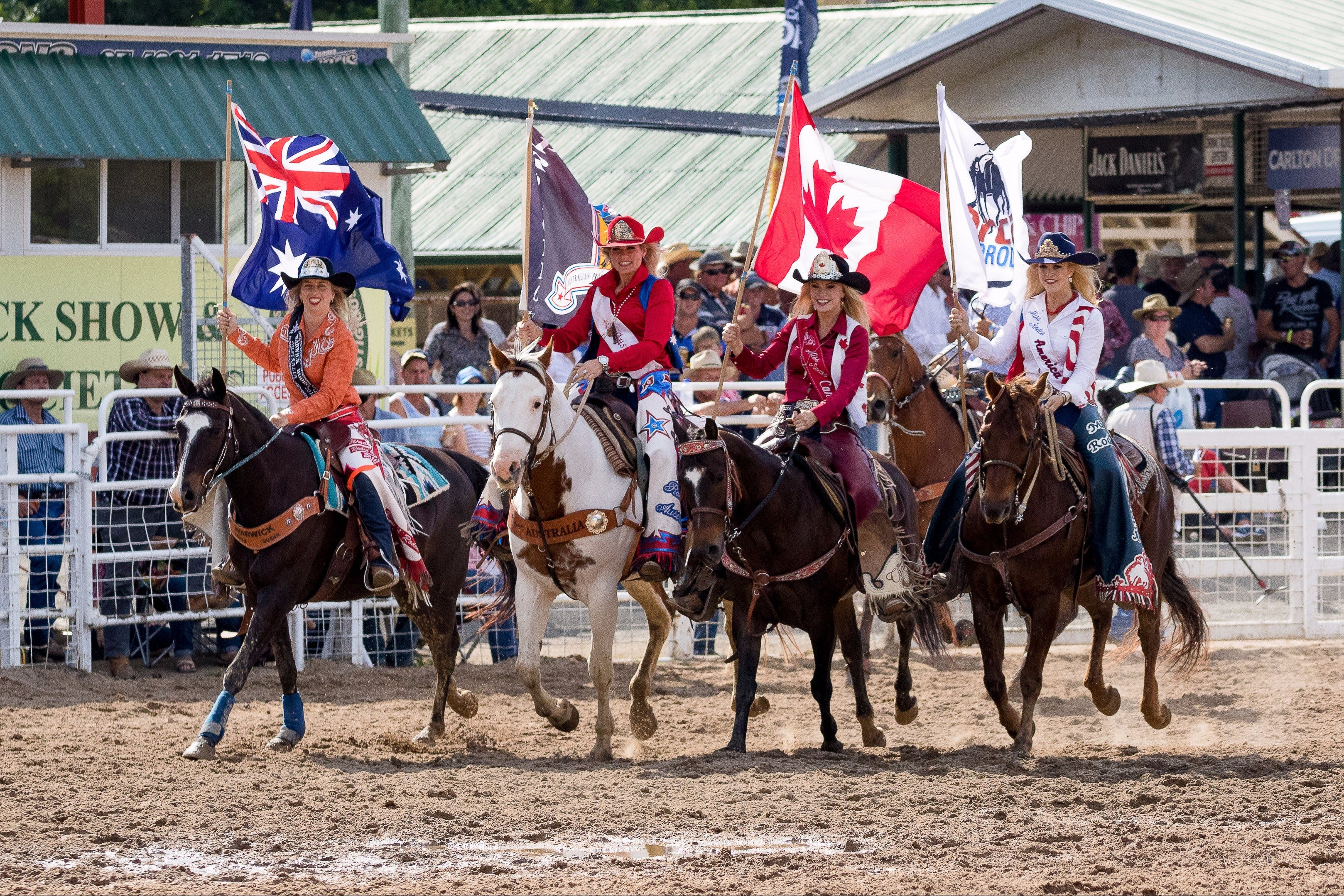 Warwick Rodeo National APRA National Finals and Warwick Gold Cup Campdraft - Accommodation Ballina