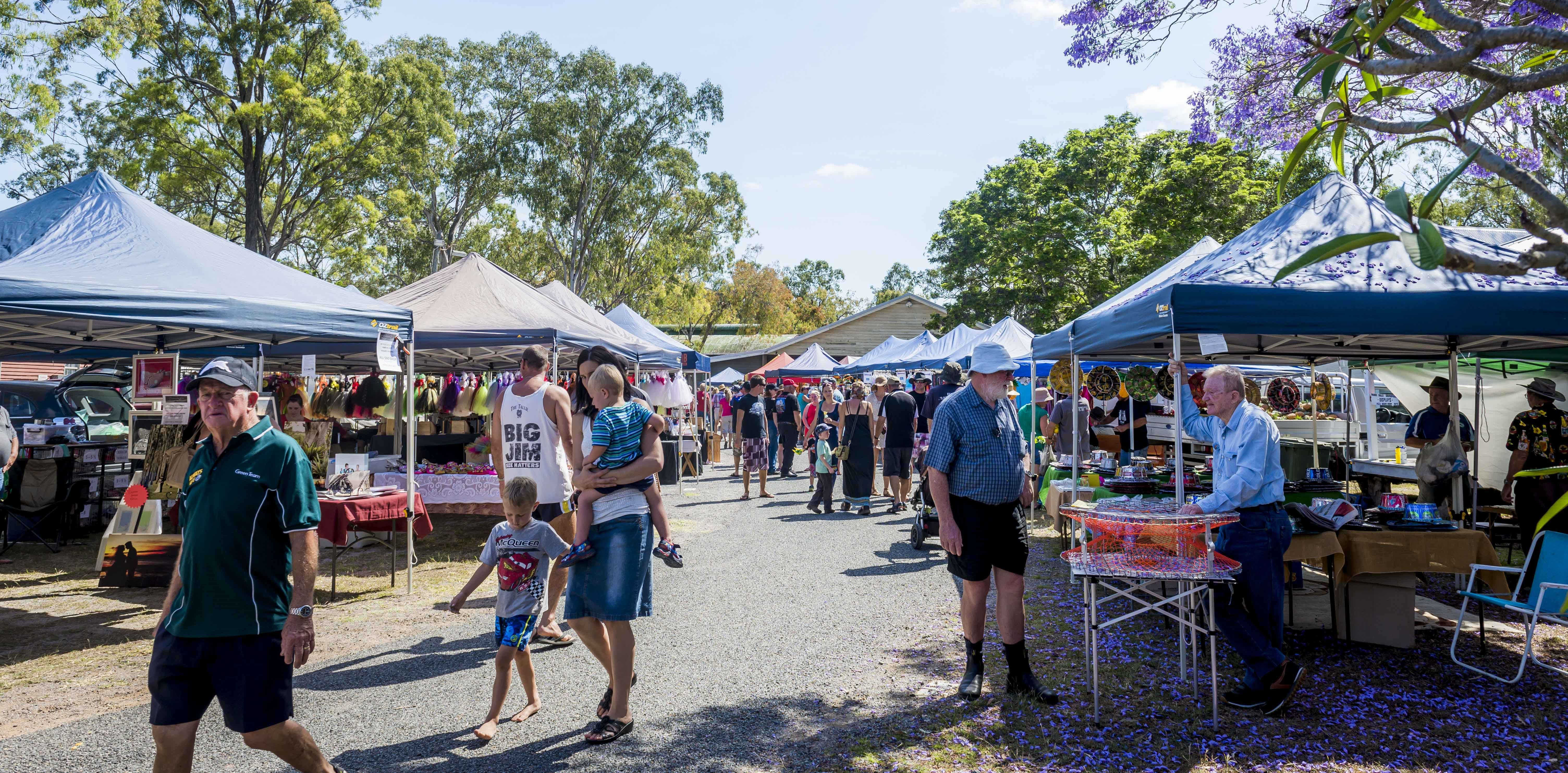 Calliope Historical Village Markets - Accommodation Ballina