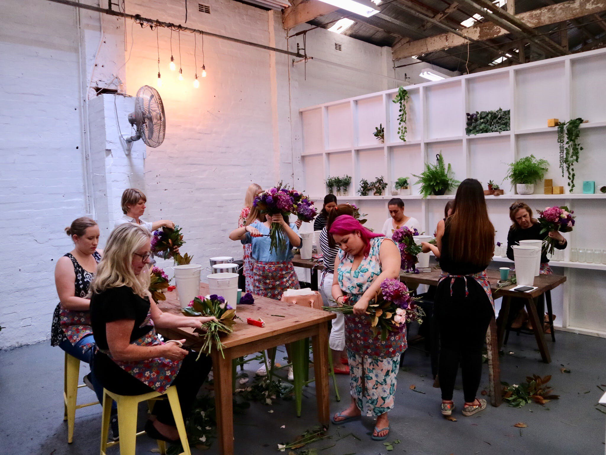 Fun Floral workshops for beginners - Accommodation Ballina