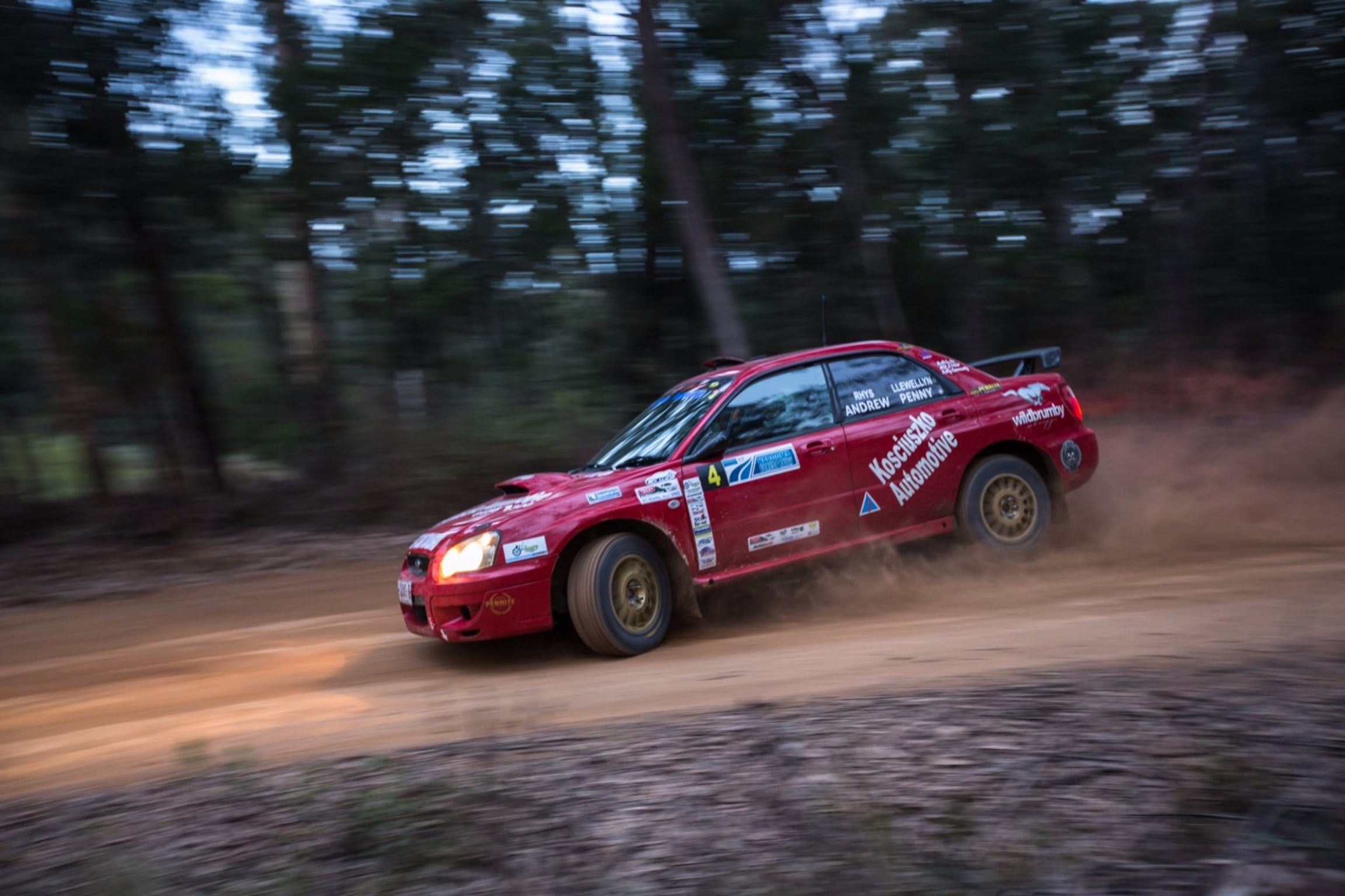 Narooma Forest Rally - Accommodation Ballina
