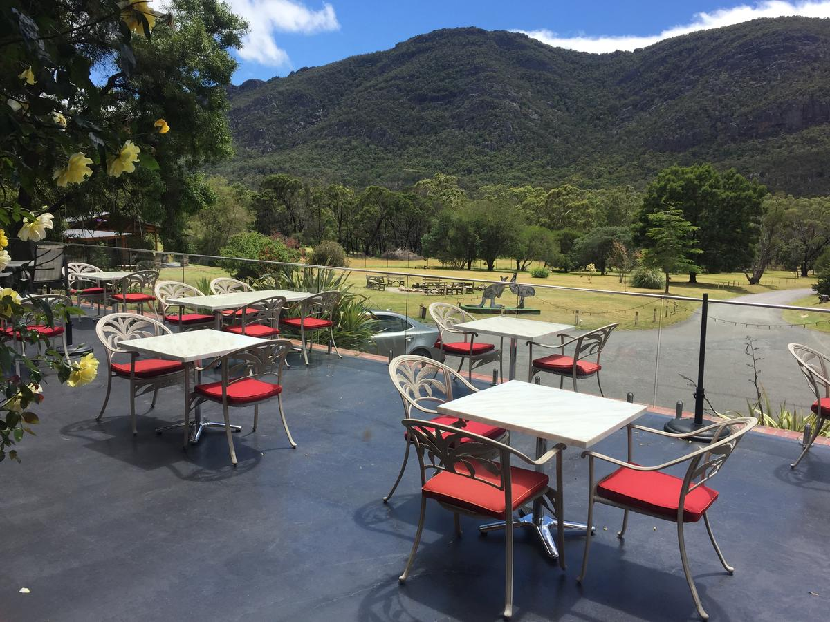 The Grampians Motel and The Views Bar  Restaurant - Accommodation Ballina